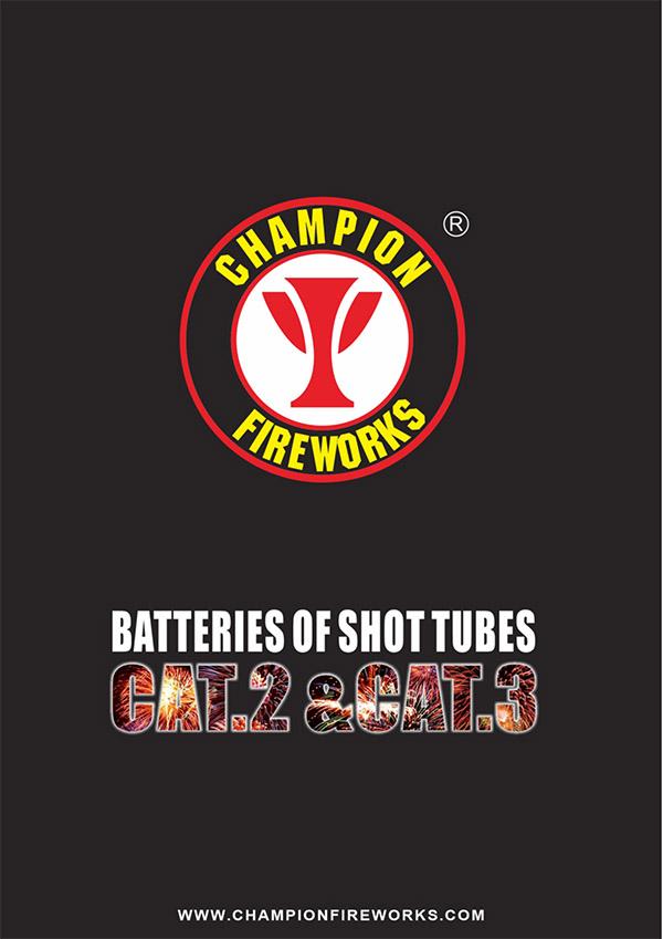 Catalog of F2 & F3 cake fireworks