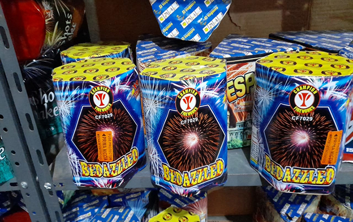 Champion fireworks products hot selling in the South American market