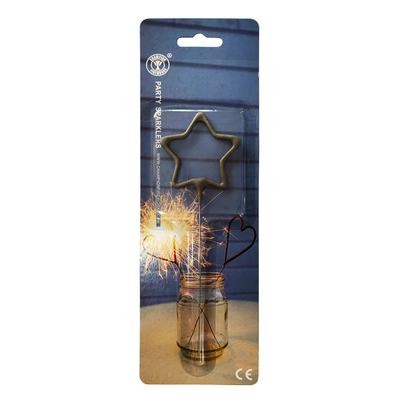 Star Shape Party Sparklers