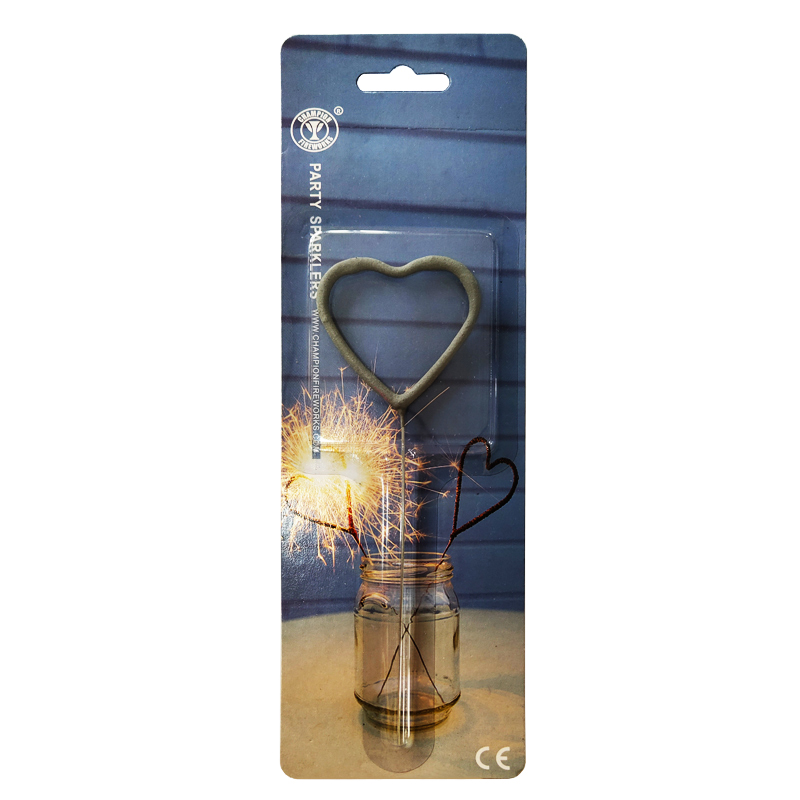 Heart Shape Party Sparklers