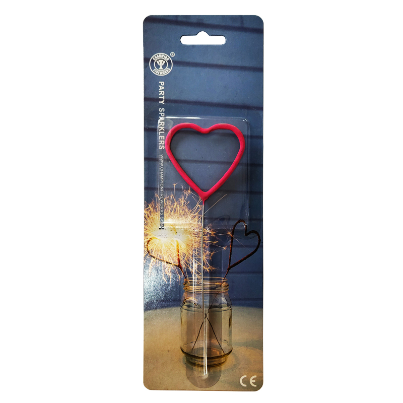 Red Heart Party Sparklers