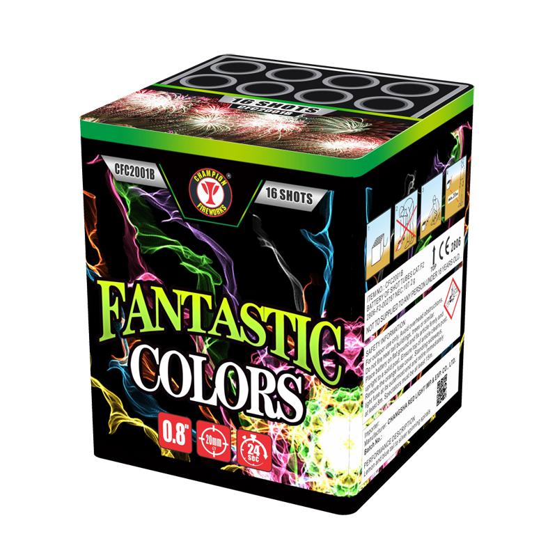 Fantastic Colors 16 Shots