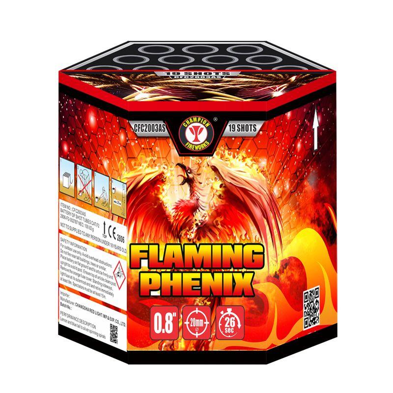 Flaming Phenix 19 Shots