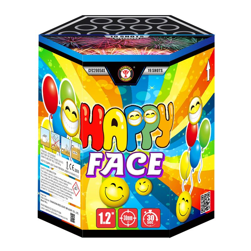 Happy Face 19 Shots