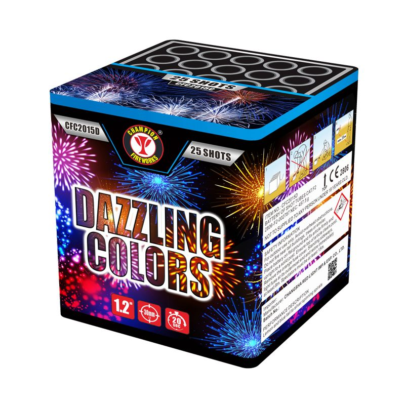 Dazzling Colors 25 Shots