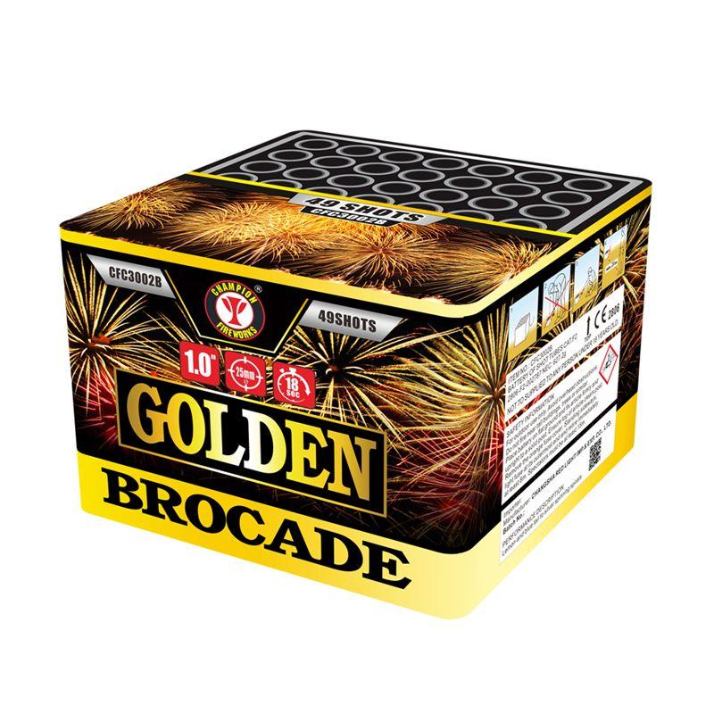 Golden Brocade 49 Shots