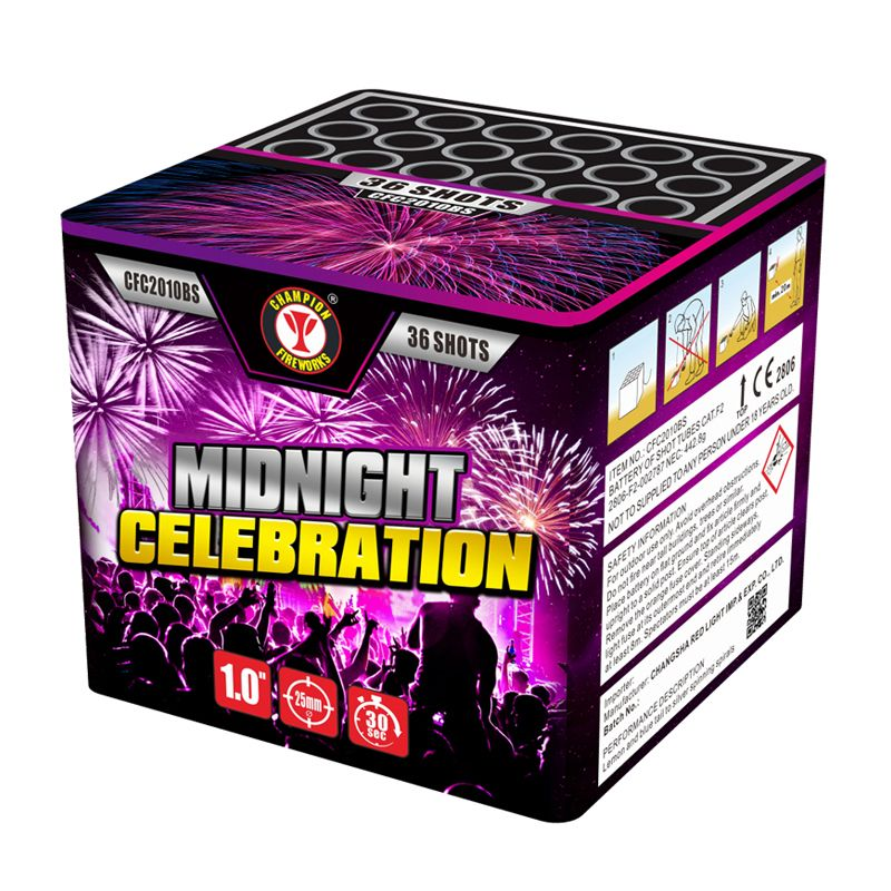 Midnight Celebration 36 Shots