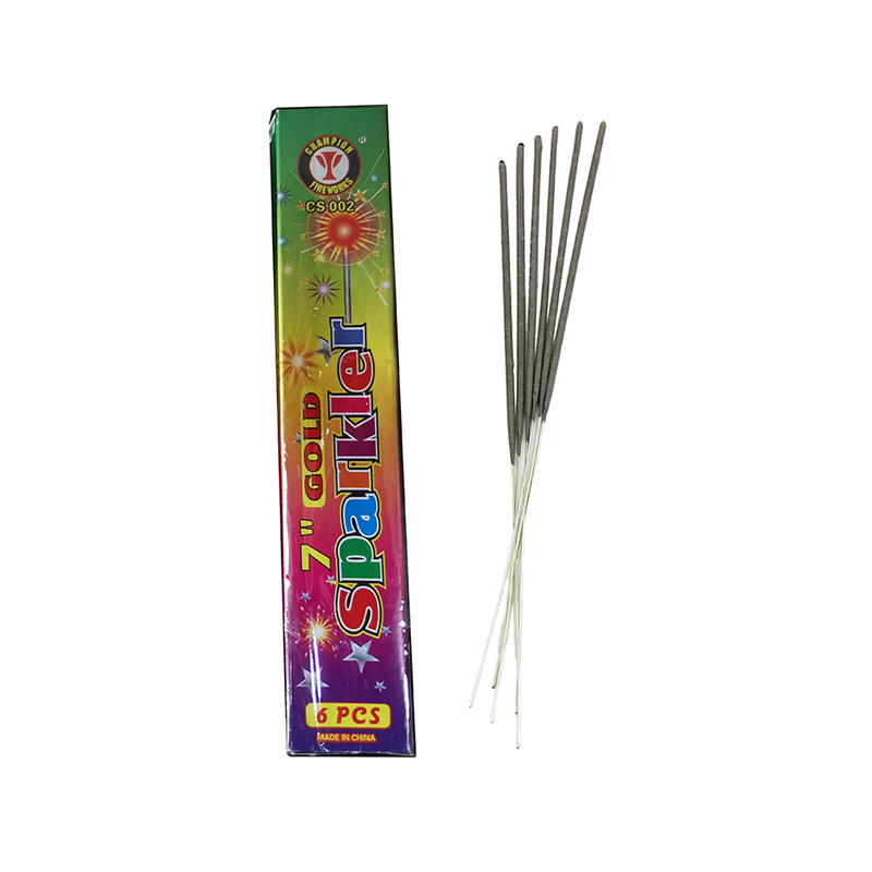 7 Inch Gold Sparklers