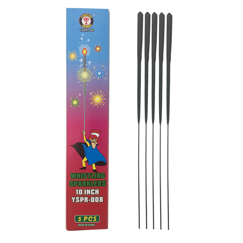 10 Inch Whistling Sparklers