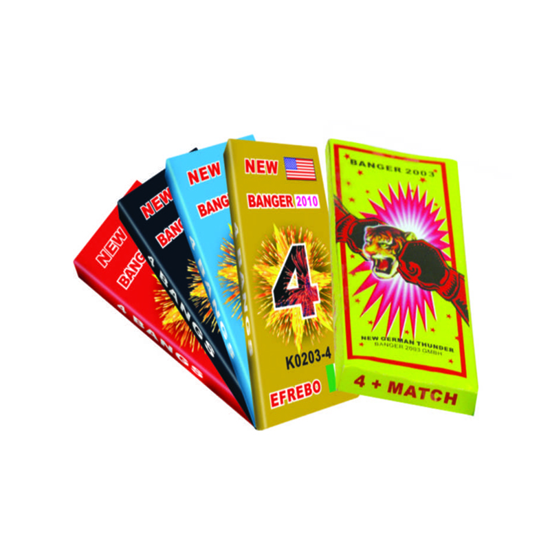 Match Cracker 4 Bangs