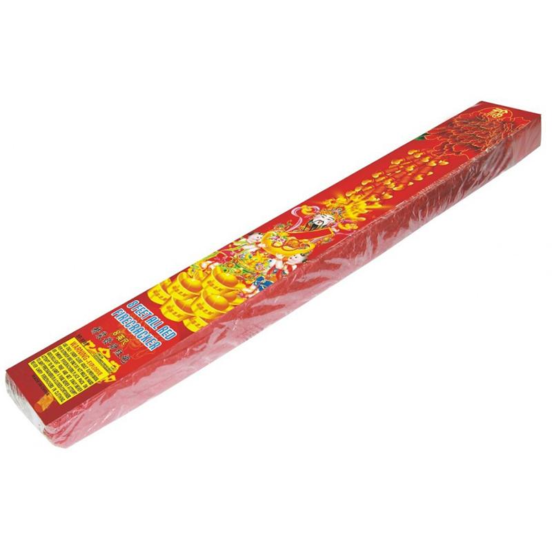 8 Feet Red Firecrackers