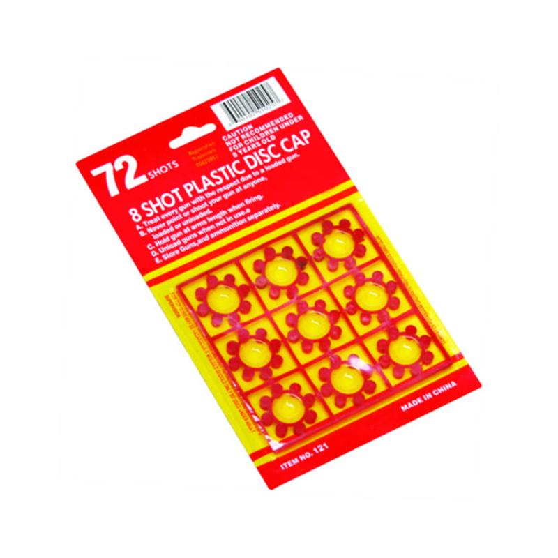 8 Shots Plastic Ring Cap Fireworks