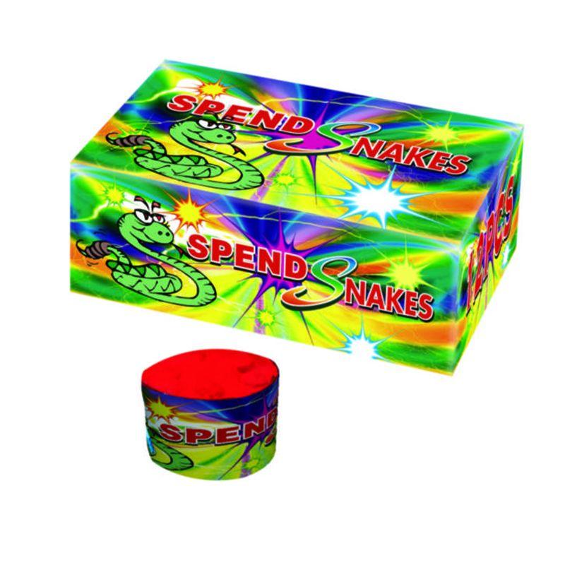 Snakes Escape Fireworks