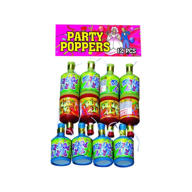 Party Popper Fireworks 12 PCS