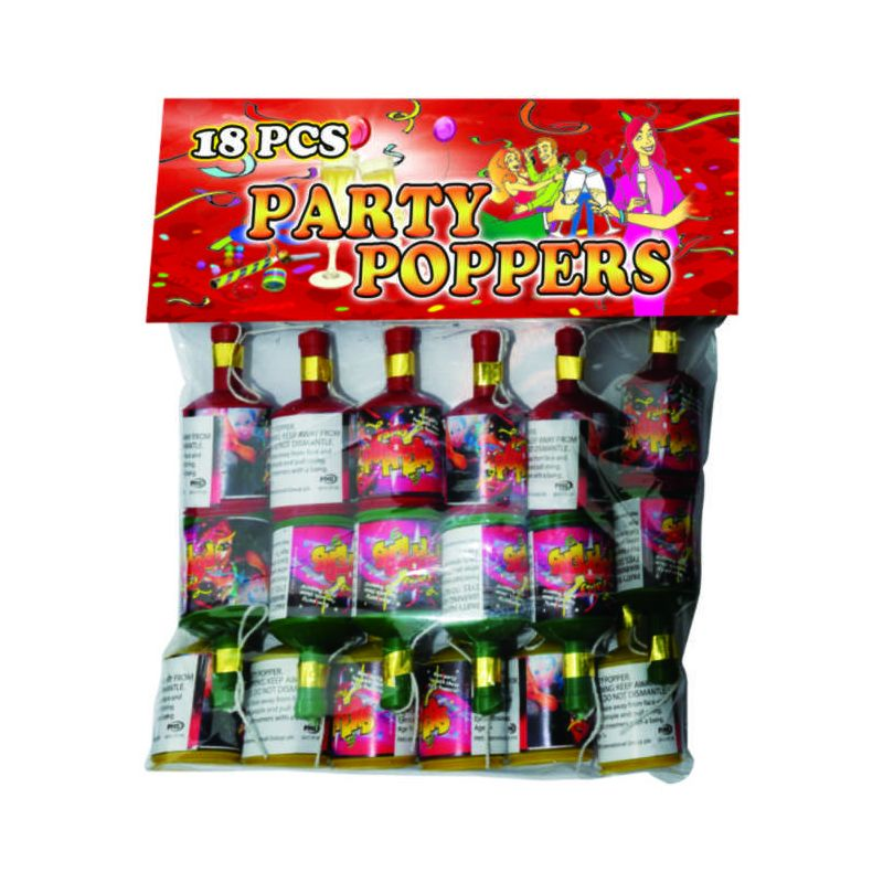 Party Popper Fireworks 18 PCS