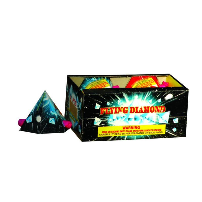 Flying Diamond Fireworks