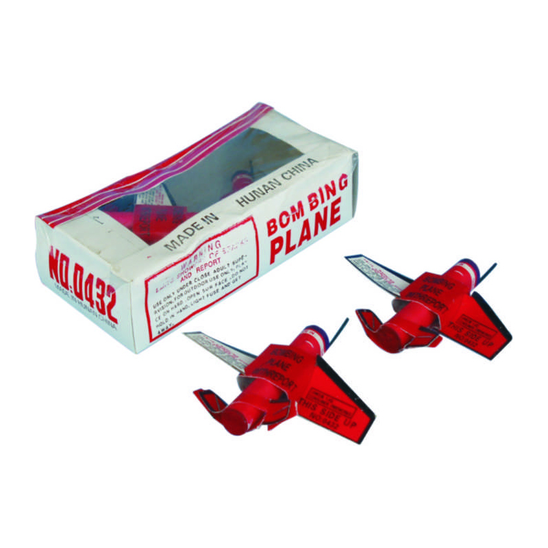 Bombing Plane Fireworks