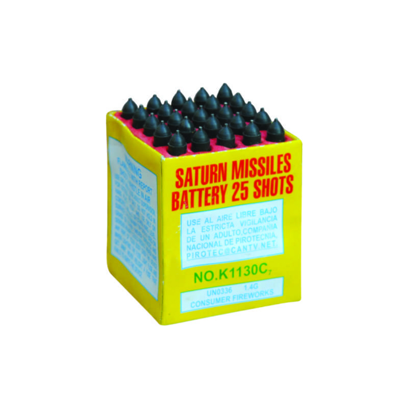 Saturn Missiles Battery 25 Shots