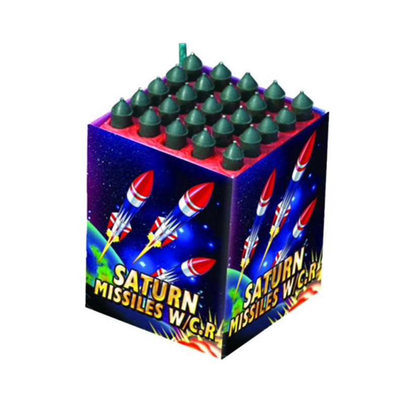 Saturn Missiles Fireworks 25 Shots
