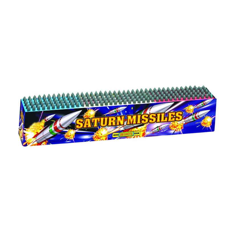 Saturn Missiles Fireworks 200 Shots