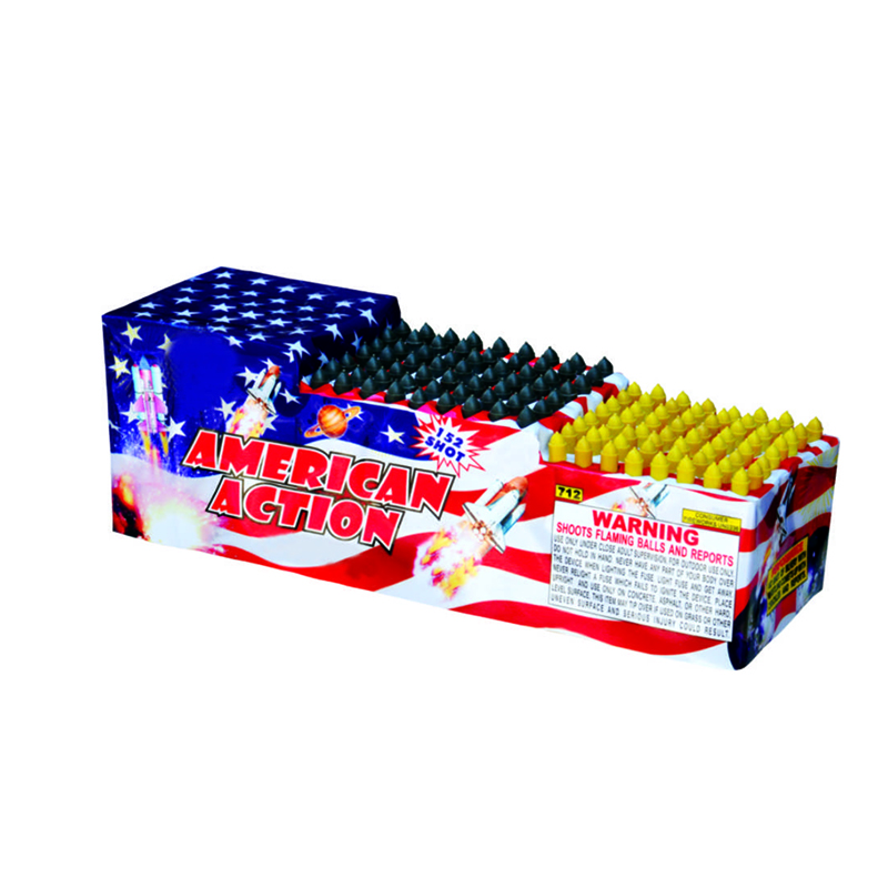 Saturn Missiles Fireworks 152 Shots
