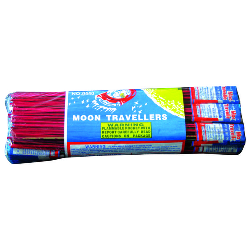 Moon Traveler Rocket Fireworks