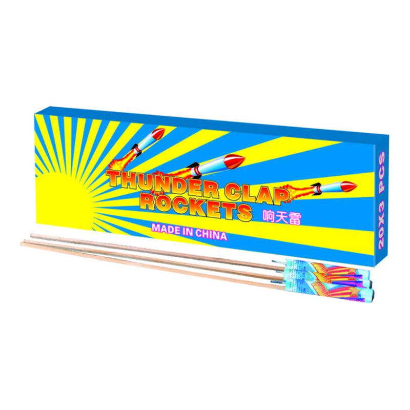 Thunder Clap Rocket Fireworks