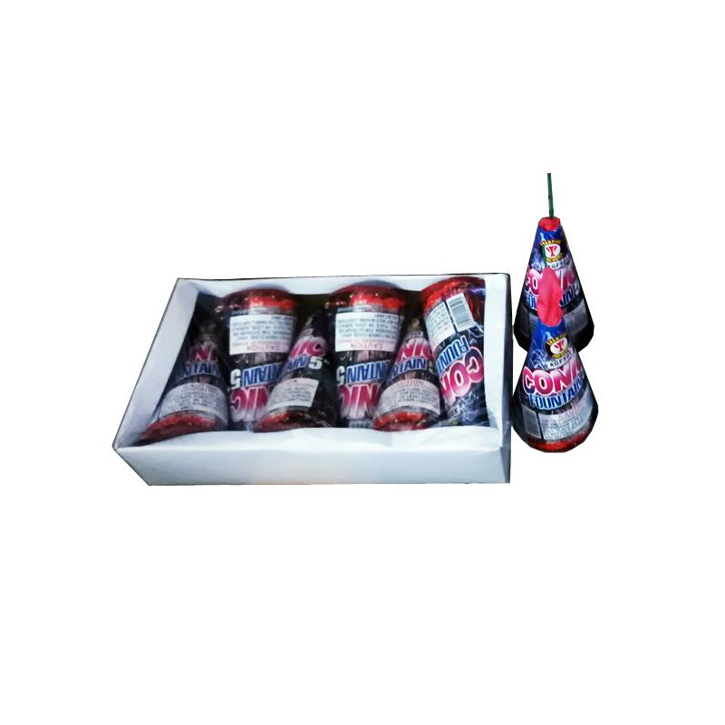 5 Inch Conic Fountain Fireworks