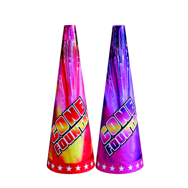 13 Inch Cone Fountain Fireworks
