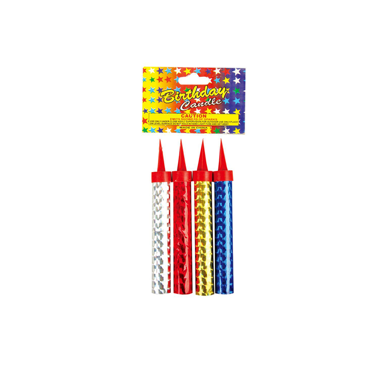 10CM Cake Candle Fireworks