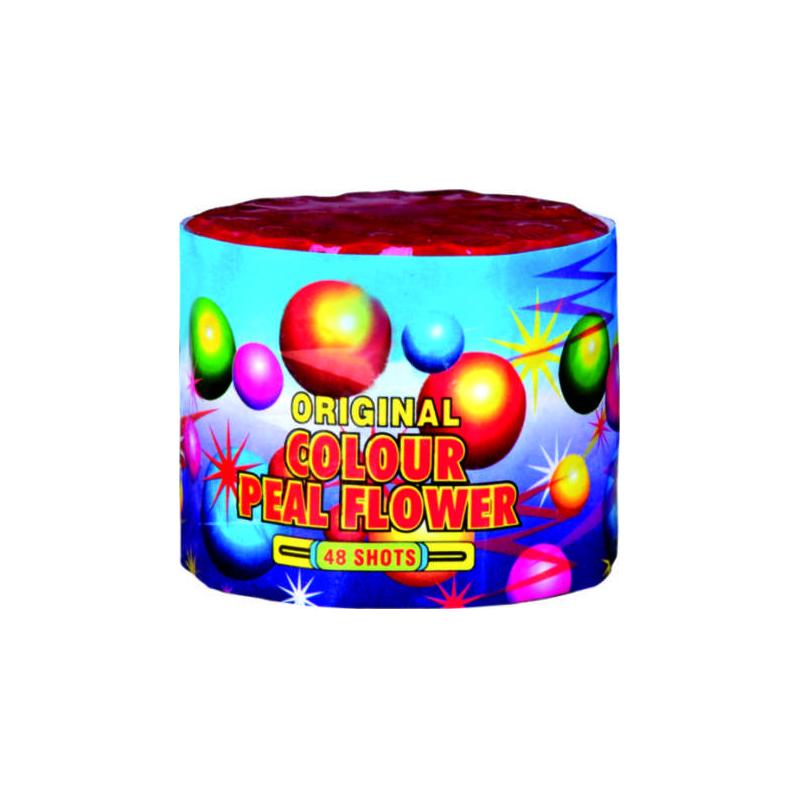 48 Shot Color Pearls Fireworks