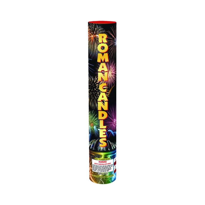 40 Shot Roman Candle Battery Fireworks