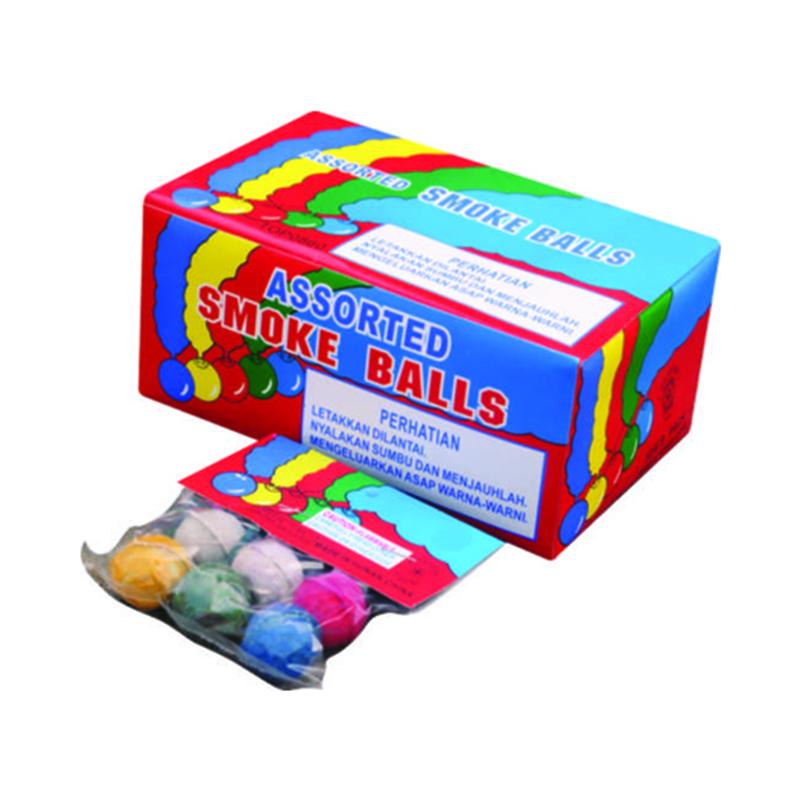 Assorted Smoke Ball Fireworks