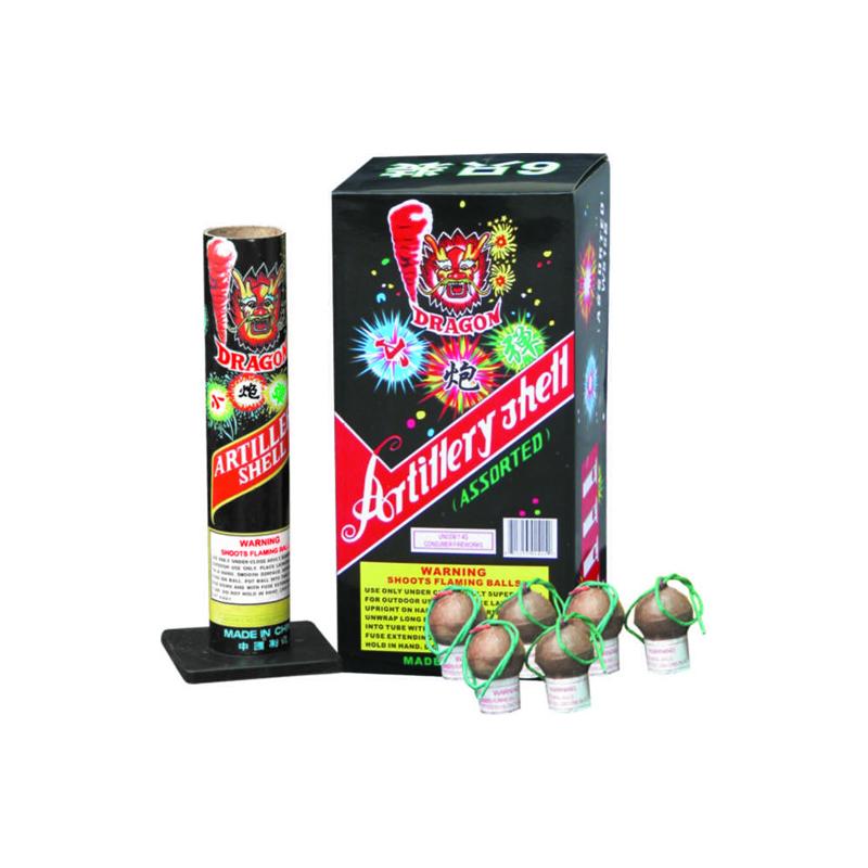W515B Assorted Artillery Shells Fireworks