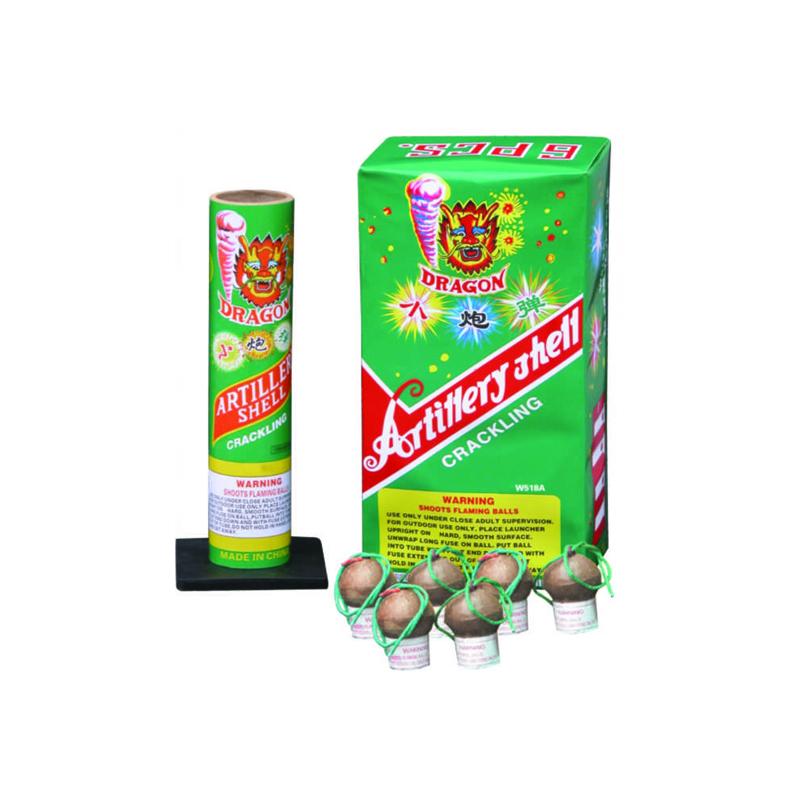 W518A Crackling Artillery Shells Fireworks