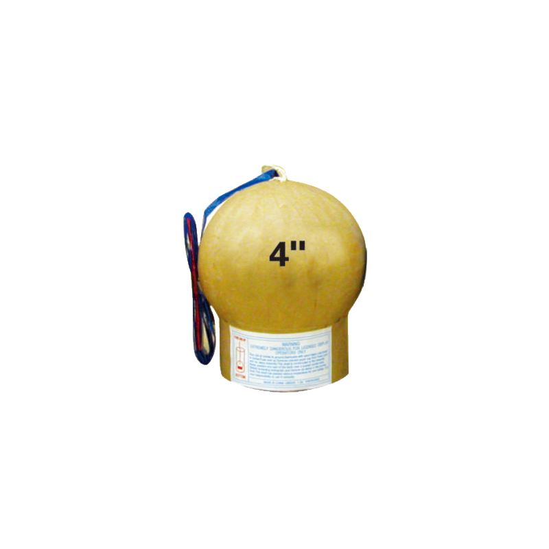 4 Inch Display Shell Fireworks