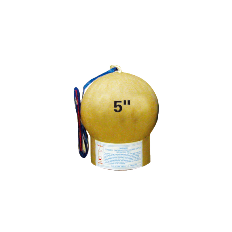 5 Inch Display Shell Fireworks