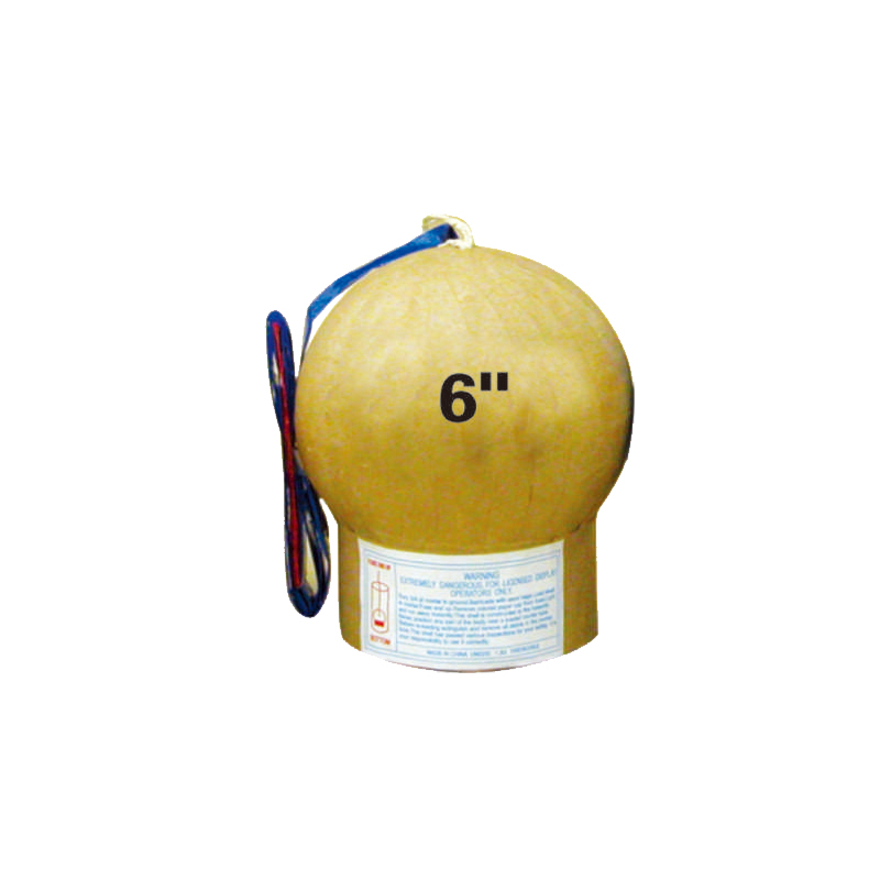 6 Inch Display Shell Fireworks