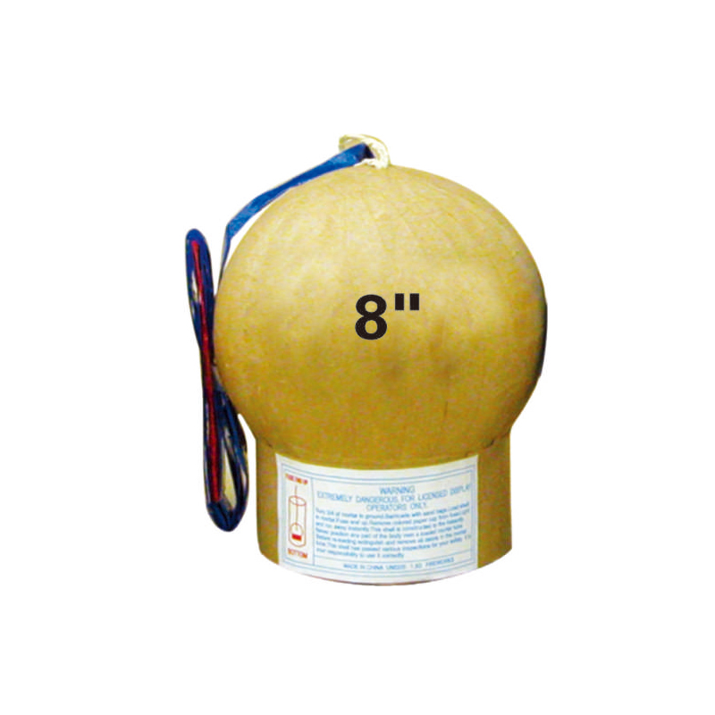 8 Inch Display Shell Fireworks