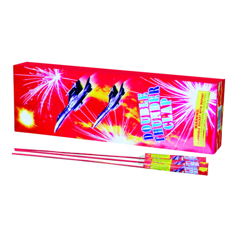 Double Thunder Clap Rocket Fireworks