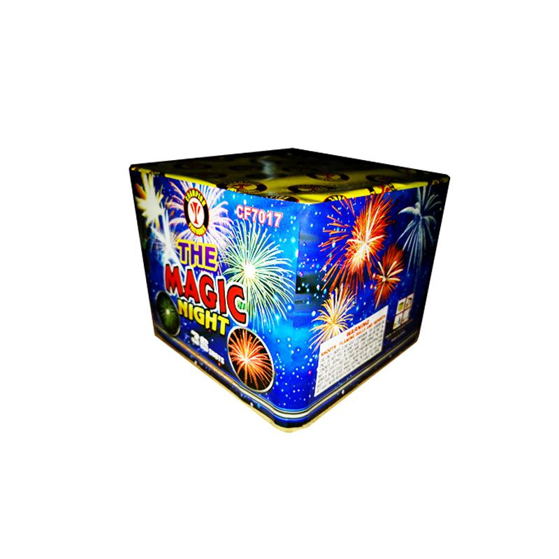 Magic Night 36 Shots Cake Fireworks