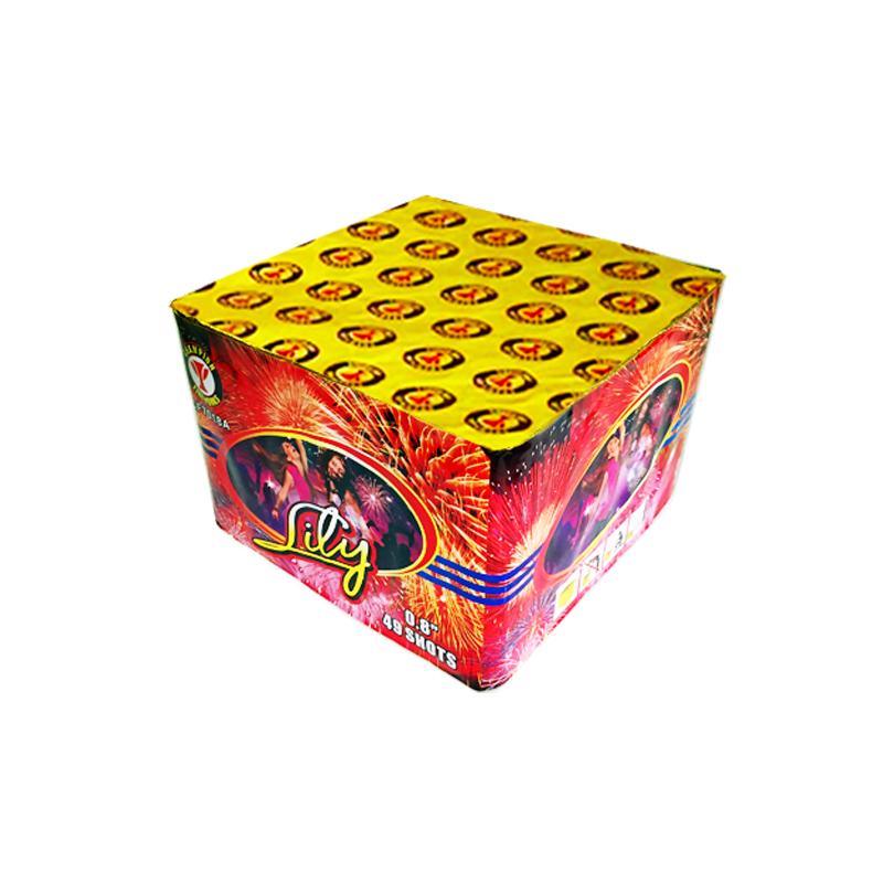 Lily 49 Shots Cake Fireworks