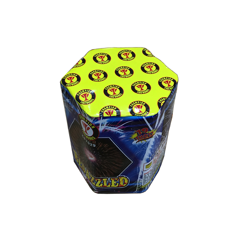 Bedazzled 19 Shots Cake Fireworks