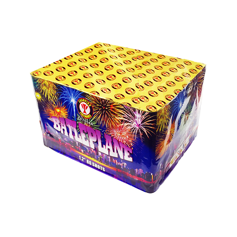 1.2 Inch 80s Finale Cake Fireworks