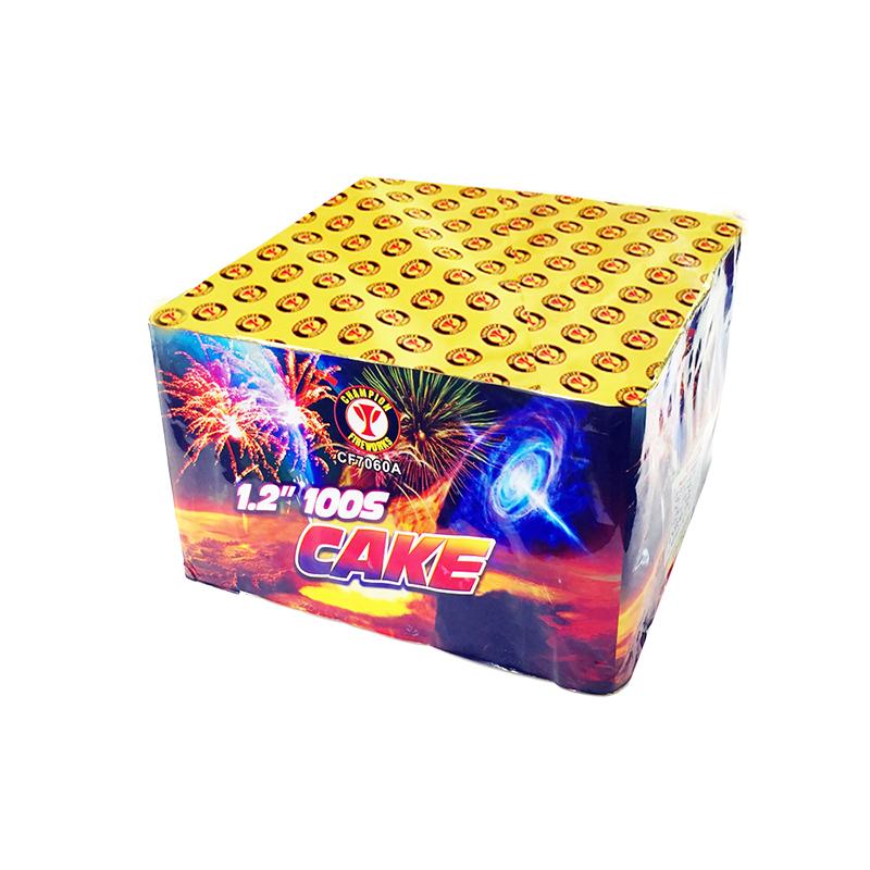 1.2 Inch 100 Shot Cake Fireworks