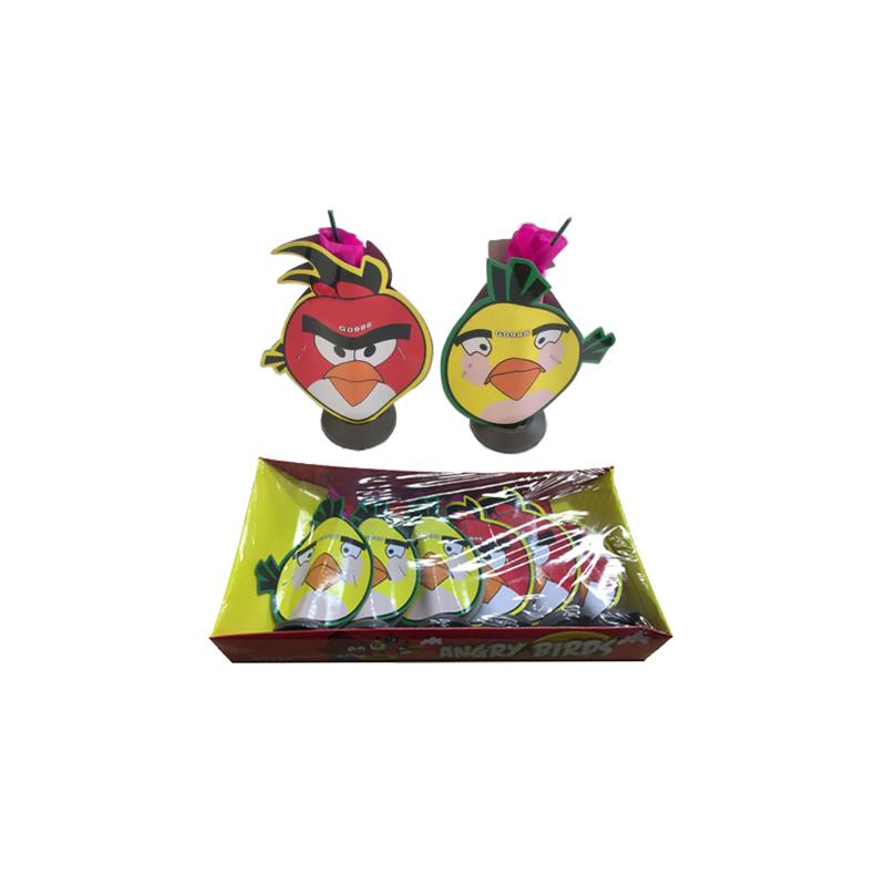Angry Birds Fountain Fireworks