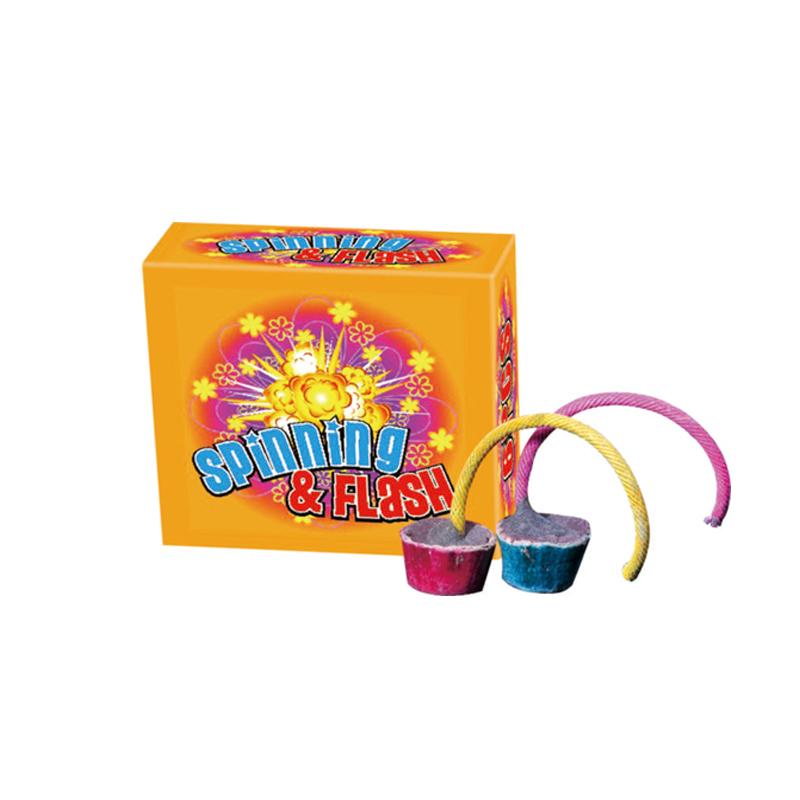 Spinning Flash Fireworks