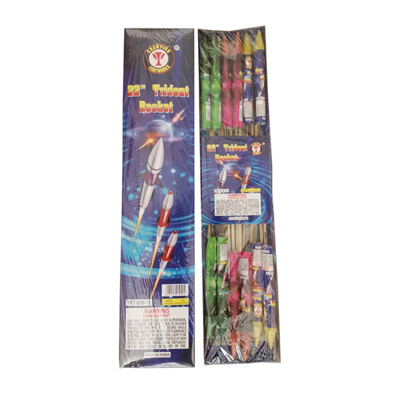 22 Inch Trident Rocket Firework