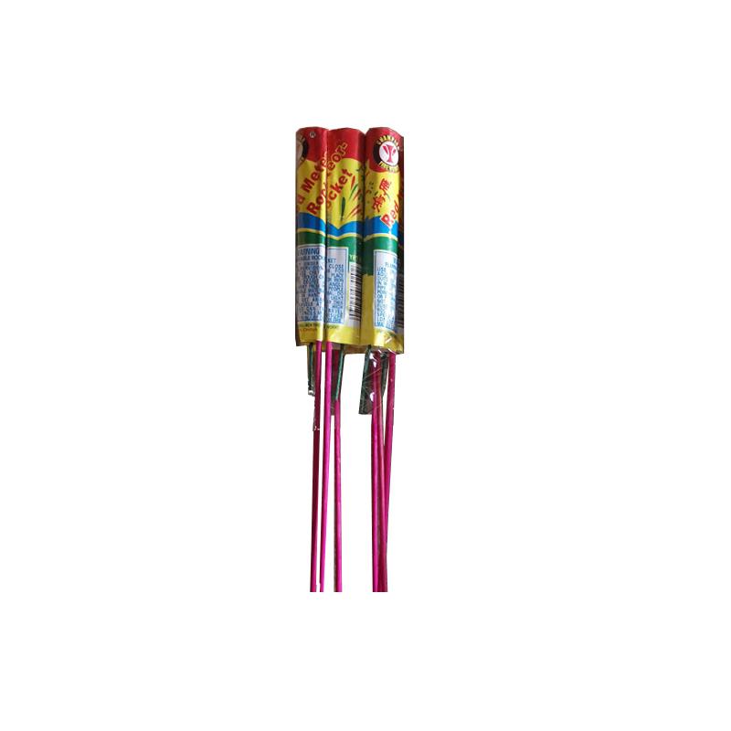 Red Meteor Rocket Fireworks