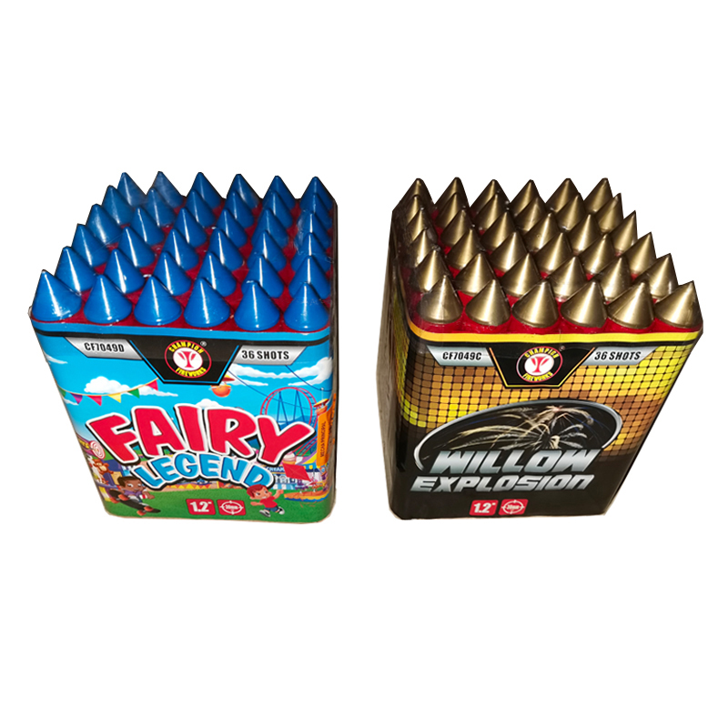 36 Shots Cake Fireworks With Caps